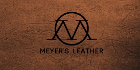 TERRY LOGO LEATHER front